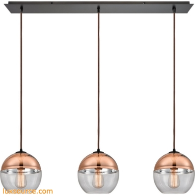 Revelo 3 Light Pendant In Oil Rubbed Bronze 10490/3LP