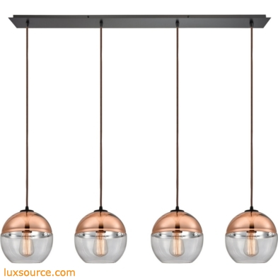 Revelo 4 Light Pendant In Oil Rubbed Bronze 10490/4LP