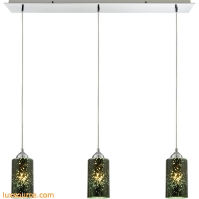Illusions 3 Light Pendant In Polished Chrome 10504/3LP