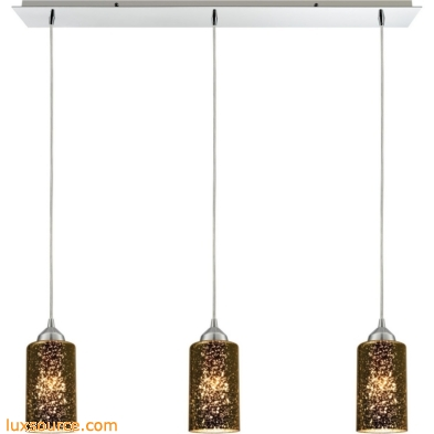 Illusions 3 Light Pendant In Polished Chrome 10505/3LP
