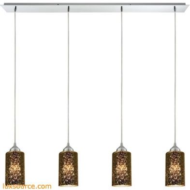 Illusions 4 Light Pendant In Polished Chrome 10505/4LP