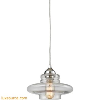 Orbital 1 Light Pendant In Polished Chrome 10525/1