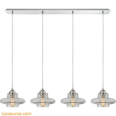 Orbital 4 Light Pendant In Polished Chrome 10525/4LP