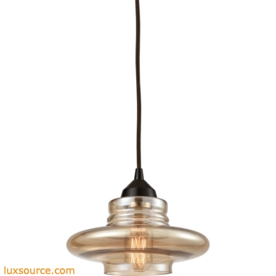Orbital 1 Light Pendant In Oil Rubbed Bronze 10535/1
