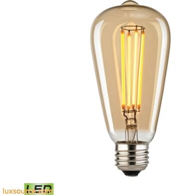 Filament Medium LED Bulb With Light Gold Tint 1110