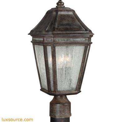 Londontowne Light Outdoor Post - Medium - 3 -Light