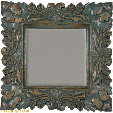 Square Baroque Mirror