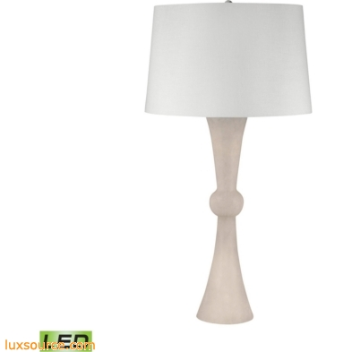 Alabaster Hour Glass LED Table Lamp