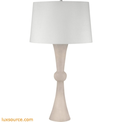 Alabaster Hour Glass Table Lamp