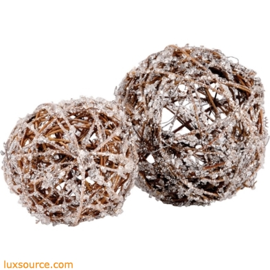 Crystals Spheres - Set of 2