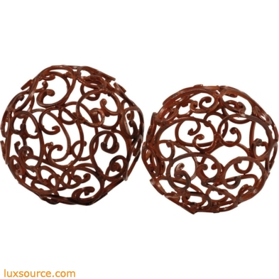 Corona Decorative Spheres - Set of 2