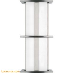 Modular Tubular Medium Outdoor - 2 X 17 Watt Fluorescent With Emergency Ballast