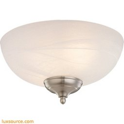 Light Kit - 3 - White - Faux - Alabaster - Light