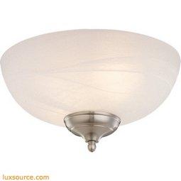 Light Kit - 3 - White - Faux - Alabaster - Light