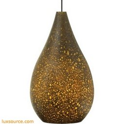 Brulee Pendant - Brown