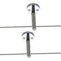 Kable Lite Rigid Post Standoff - 1 Inch post standoffs (pair)