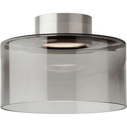 Manette Flush Mount Ceiling - Small - Transparent Smoke - LED
